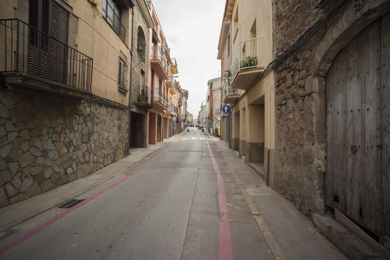 Imatge del carrer Padró