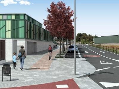 L'Ajuntament urbanitzarà el tram oest de l'avinguda Girona