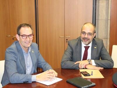 L'alcalde de Sant Fruitós de Bages es reuneix amb el Conseller d'Interior per tal d'avançar vers la problemàtica dels robatoris
