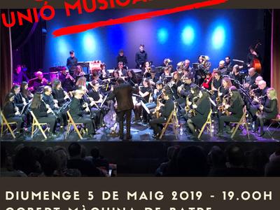 La banda Unió Musical del Bages actuarà aquest diumenge a Sant Fruitós de Bages