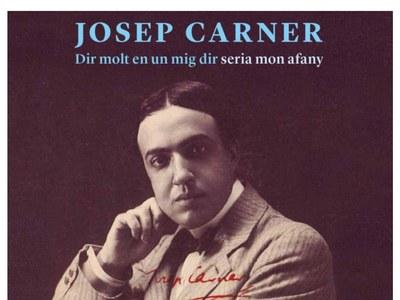 """La Biblioteca acull l'exposició """"Dir molt en un mig dir seria mon afany"""", dedicada a la figura del poeta Josep Carner"""