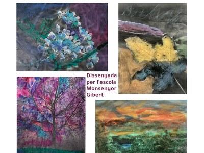 """La Biblioteca acull l'exposició """"L'art de fotografiar, l'art de pintar"""" creada pels alumnes de l'escola Monsenyor Gibert"""