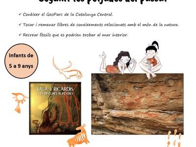 La Biblioteca Municipal organitza un taller infantil per donar a conèixer el Geoparc de la Catalunya Central