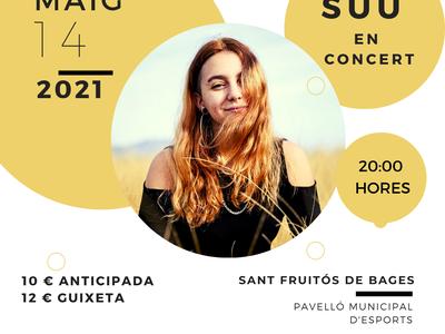 La cantautora SUU portarà el seu pop intimista al pavelló municipal aquest divendres al vespre
