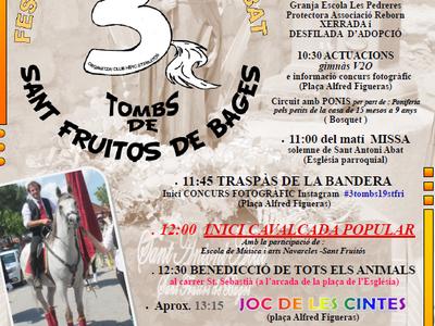 La Festa dels 3 Tombs torna aquest diumenge a Sant Fruitós de Bages