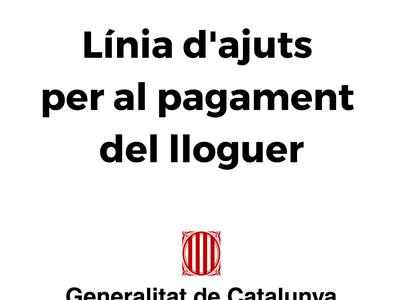 La Generalitat obre una línia de subvencions per al pagament del lloguer