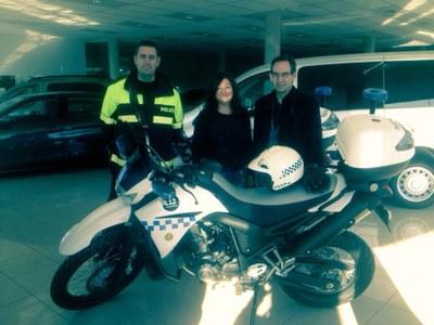 La Policia Local de Sant Fruitós també patrullarà en moto