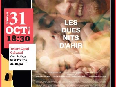 """La projecció de la pel·lícula """"Les Dues nits d'ahir"""" es reprograma per aquest diumenge 31 d'octubre"""