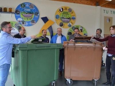 La prova pilot amb contenidors tancats triplica l'índex de recollida selectiva i la situa al 77%