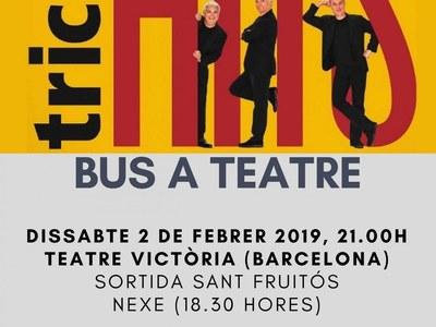 La sortida per a veure el Tricicle a Barcelona exhaureix les places