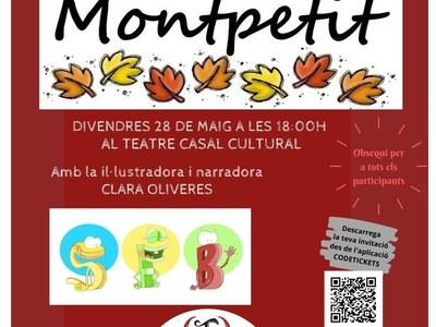 El lliurament de premis del concurs de contes Montpetit se celebrarà aquest divendres 28 de maig