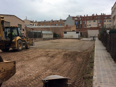 L'Ajuntament adequa un nou aparcament