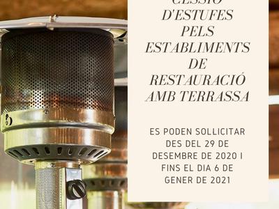 L'Ajuntament de Sant Fruitós de Bages aprova una nova subvenció per cedir estufes als establiments de restauració amb terrassa del municipi