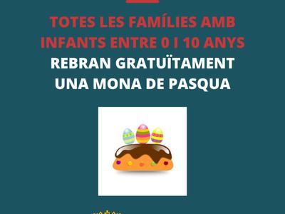L'Ajuntament de Sant Fruitós de Bages regalarà una mona de pasqua a totes les famílies amb infants del municipi