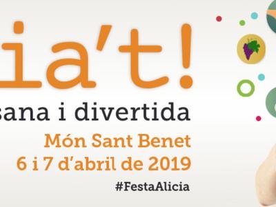 L'Ajuntament de Sant Fruitós de Bages serà present, un any més, a la Fira Alicia't aquest cap de setmana