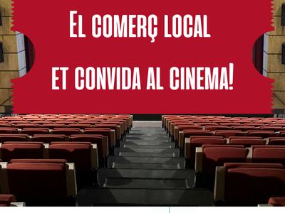 L'Ajuntament i el comerç local fan pinya per apropar el cinema català als veïns i veïnes
