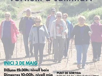 L'Ajuntament impulsa un cicle de caminades per a la gent gran del municipi