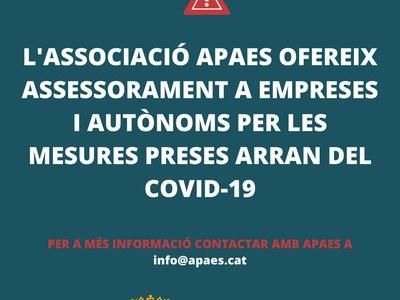 L'APAES ofereix assessorament a empreses i autònoms