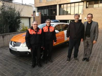 L'Associació de Voluntaris de Protecció Civil del municipi disposa d'un nou vehicle