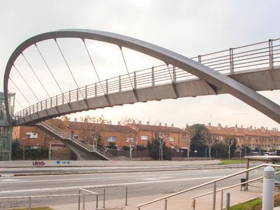 Les obres a la passarel·la de la Rosaleda s'executaran fins el proper divendres 25 de gener