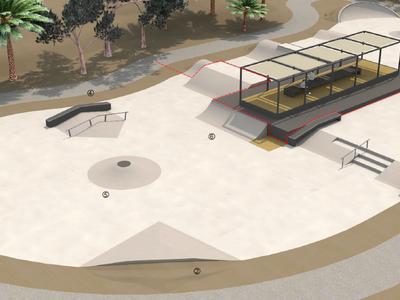 Les obres del primer skatepark del municipi s'iniciaran aquest any