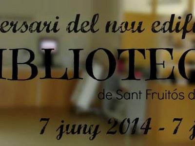 Primer aniversari de la Biblioteca de Sant Fruitós de Bages