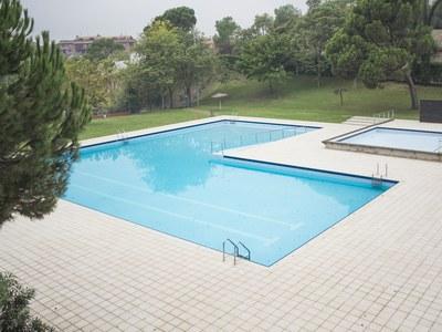 S'amplia l'aforament de les piscines municipals en 225 persones