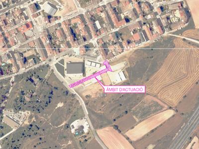 S'aprova definitivament el projecte d'urbanització a l'àmbit del sector El Puig que permet executar el carrer per la nova escola i pavelló