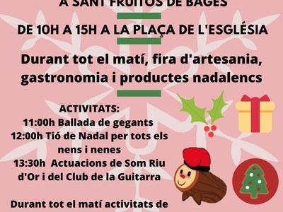 Sant Fruitós de Bages celebra la 13ena edició de la Fira de Santa Llúcia