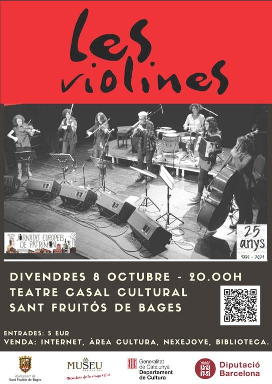 Cartell promocional - Les Violines