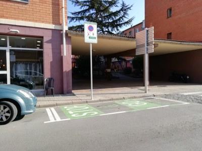 Sant Fruitós de Bages disposa de dos nous aparcaments Stop&Go