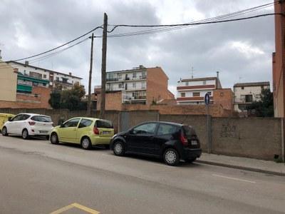 Sant Fruitós de Bages disposarà d'un nou aparcament públic gratuït al carrer Jaume Balmes