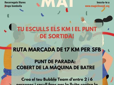 Sant Fruitós de Bages disposarà d'un recorregut propi per participar en la caminada solidària Màgic Line