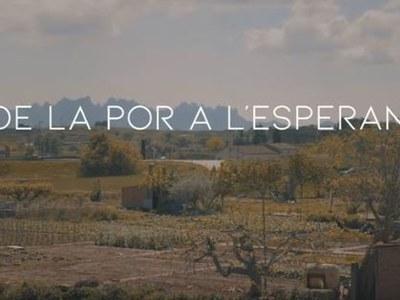 """Sant Fruitós de Bages estrena el curtmetratge """"De la por a l'esperança"""" que recull les reflexions de la gent gran del municipi arran de la pandèmia"""