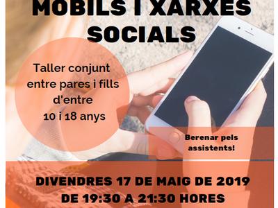 Sant Fruitós de Bages organitza un taller per a pares i fills sobre l'ús segur de dispositius mòbils i xarxes socials