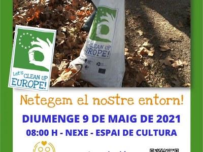 Sant Fruitós de Bages organitza una jornada de neteja de l'entorn en el marc del European Clean Up Day