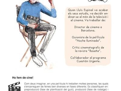 Sant Fruitós de Bages presenta material divulgatiu sobre la tasca de Lluís Espinal en el món cinematogràfic
