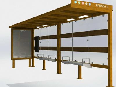 Sant Fruitós de Bages tindrà 4 noves marquesines en les parades de transport públic de la carretera de Vic