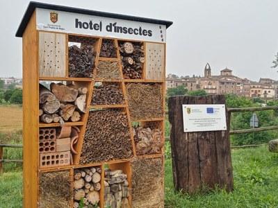 Sant Fruitós de Bages tindrà dos hotels d'insectes al municipi