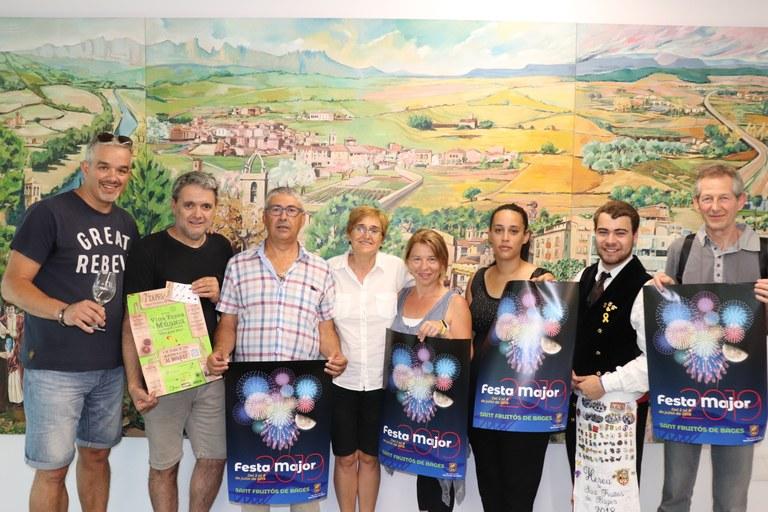 Fotografia de les entitats implicades en la Festa Major