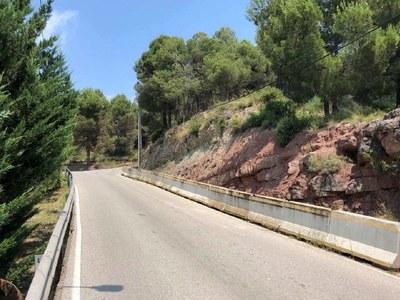 S'aprova el projecte per arranjar el vial i el talús del carrer Bon Temps a Les Brucardes