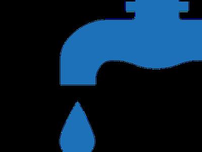 Tall puntual en la xarxa de distribució d'aigua a Pineda de Bages