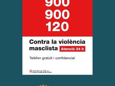 Telèfon d'atenció a les víctimes de violència de gènere