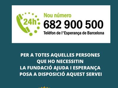 Telèfon de l'Esperança de Barcelona