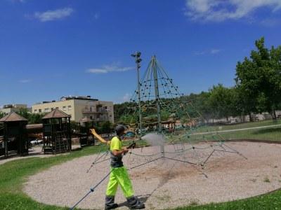 Tots els parcs infantils de Sant Fruitós de Bages estaran oberts a partir d'aquest dissabte 20 de juny
