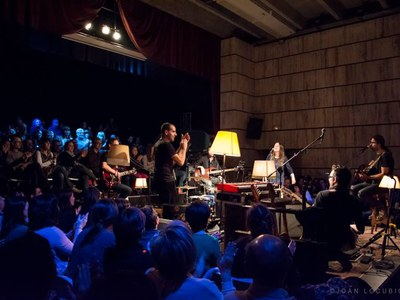 Vibrant concert del grup Gossos a Sant Fruitós