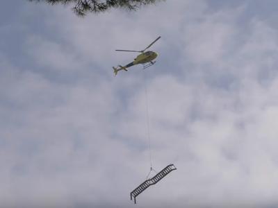 VÍDEO: Col·locació de la passera de Les Brucardes