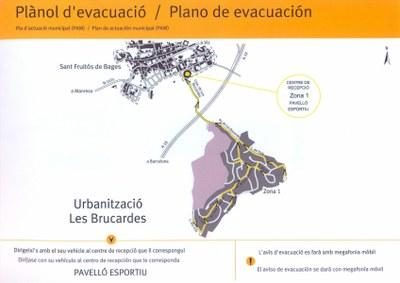 Pla d'evacuació de Les Brucardes.jpg